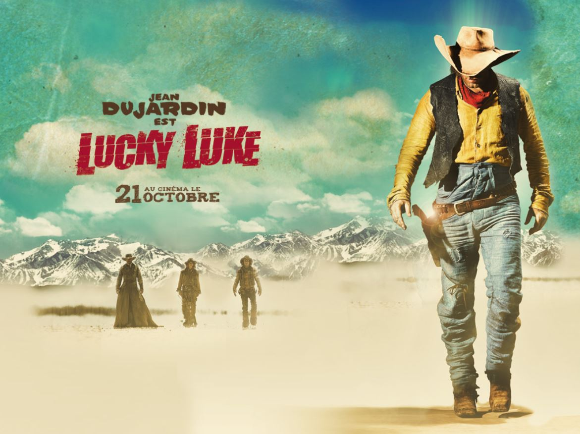 Lucky luke im kino highlightzone for Film 2016 jean dujardin