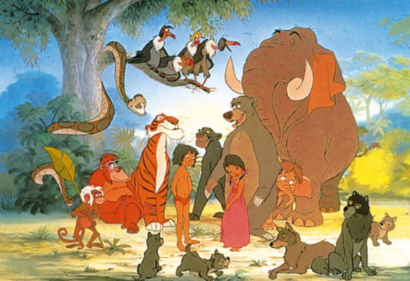 Dschungelbuch Charaktere