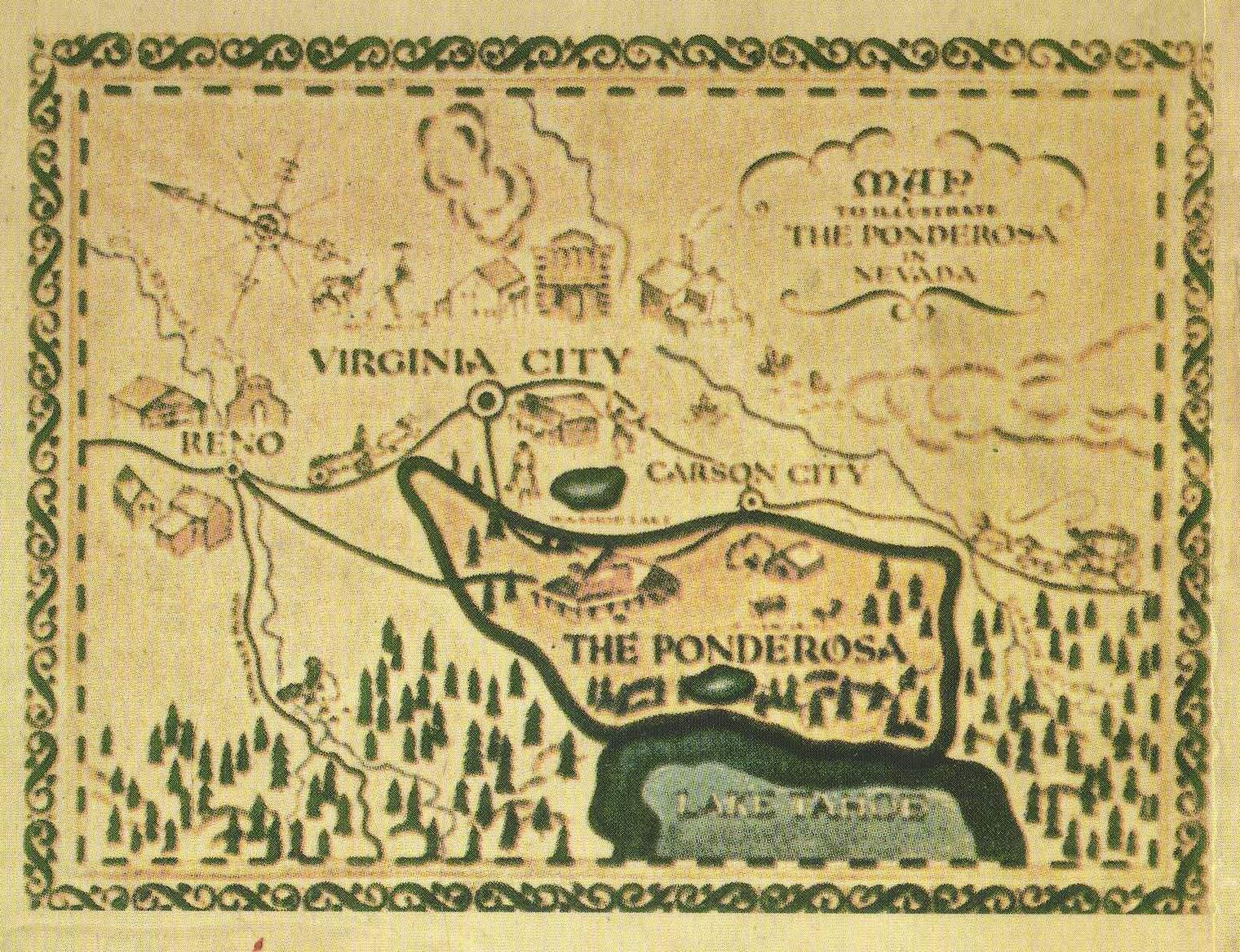 Bonanza Karte