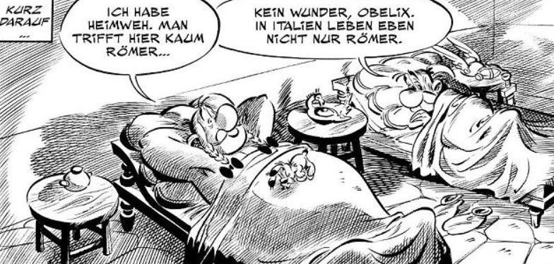 Asterix Bürokratie